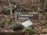 Carderock Springs Sign